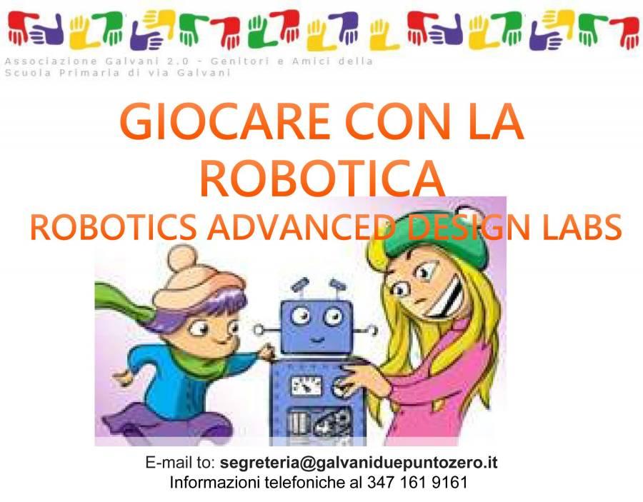Vieni a giocare con la robotica